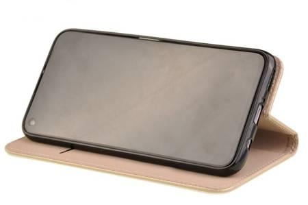 Etui Smart do Huawei P40 Lite złoty