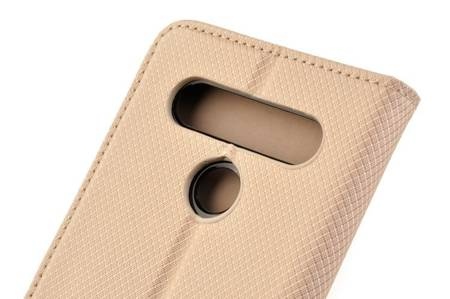 Etui Smart do LG K61 złoty
