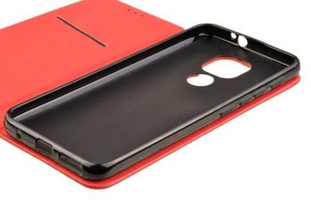 Etui Smart do Motorola Moto G9 / G9 Play / E7 Plus czerwony