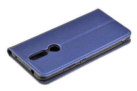 Etui Smart do Nokia 2.4 niebieski