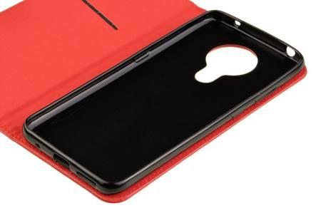 Etui Smart do Nokia 5.3 czerwony