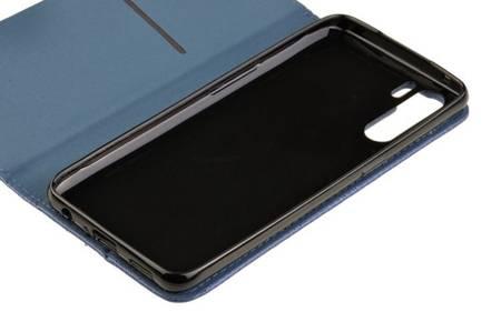 Etui Smart do Oppo Reno 3 / A91 niebieski