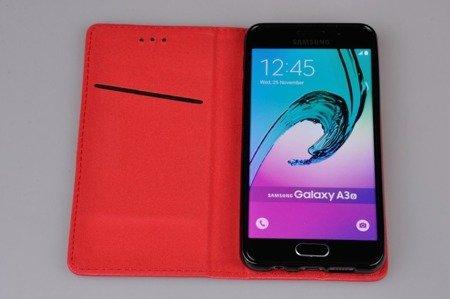 Etui Smart do SAMSUNG Galaxy A3 2016 A310 czerwony