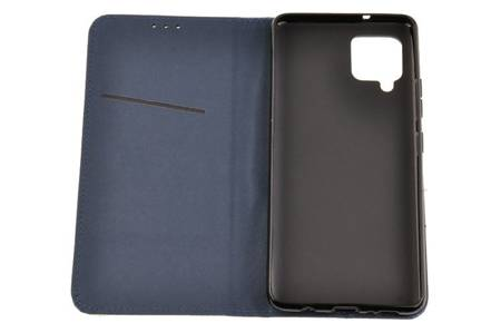 Etui Smart do Samsung Galaxy A42 5G niebieski