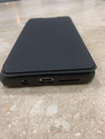 Etui pancerne z klapką mocny magnes do Samsung Galaxy S20 FE G780 eleganckie