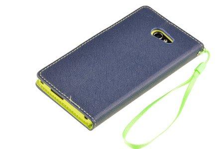 Etui portfel Fancy Case do SONY XPERIA M2 niebieski