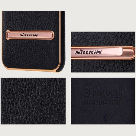 Etui skórzane magnetyczne Nillkin M-Jarl elegant do Apple iPhone 7 / 8 czarny