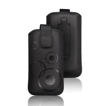 Etui wsuka na rzep do Samsung Galaxy S10e / A40 czarny
