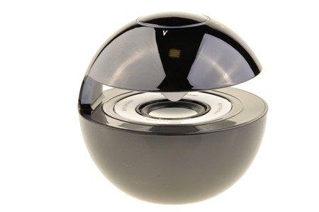 Głośnik Bezprzewodowy Bluetooth Led MP3 microSD AUX czarny
