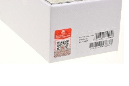 Oryginalna ładowarka Huawei Ap38 Supercharge / Quick Charge + kabel Typ C