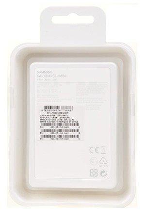 Oryginalna szybka ładowarka samochodowa Samsung Mini Fast charger MicroUSB