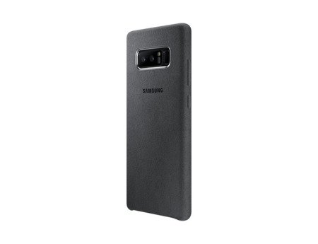 Oryginalne Etui Alcantara Cover do SAMSUNG Galaxy Note 8 N950 szary