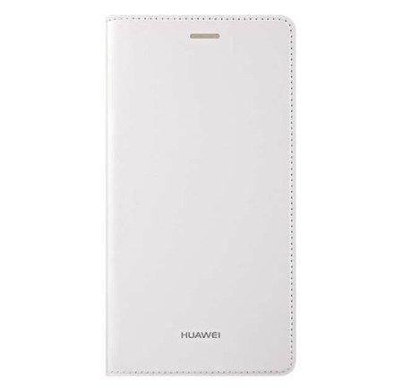 Oryginalne Etui Flip Cover do HUAWEI P8 biały