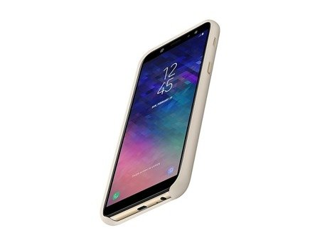 Oryginalne etui Dual Layer Cover do SAMSUNG GALAXY A6 2018 złoty