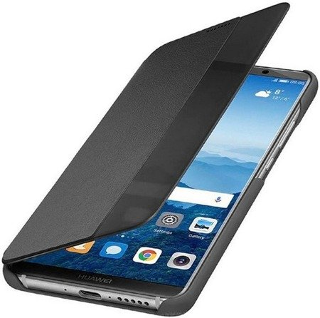 Oryginalne etui Smart View Flip Cover do HUAWEI Mate 10 Pro szary