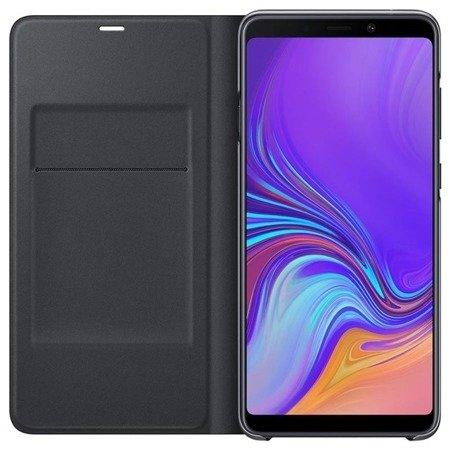 Oryginalne etui Wallet Cover do SAMSUNG GALAXY A9 2018 A920 czarny
