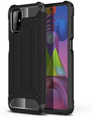 Pancerne etui Armor TPU +PC do Samsung Galaxy M51 M515 czarny