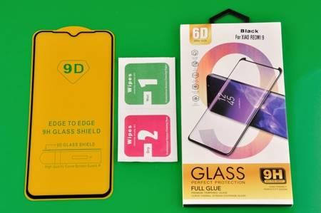 Szkło Hartowane 6D do Xiaomi Redmi 9 czarny