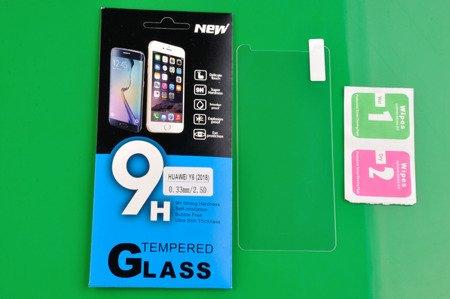 Tempered Glass 9H Szkło Hartowane 9H 0,3 mm do HUAWEI Y6 2018